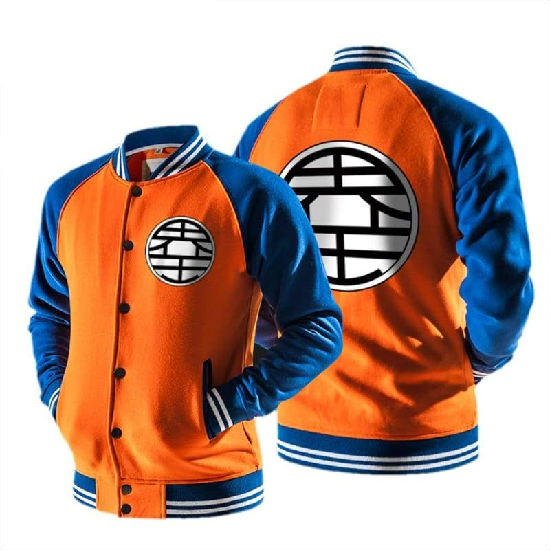xcoser-de,Xcoser Goku Hoodie Dragon Ball Cosplay Mens Raglan Sleeves Baseball Jacket Sweatshirt Sales 2018,Hoodies