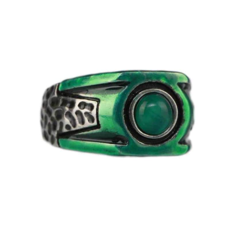 xcoser-de,XCOSER Green Lantern Hal Jordan Green Copper Ring Cosplay Accessory,Jewelry