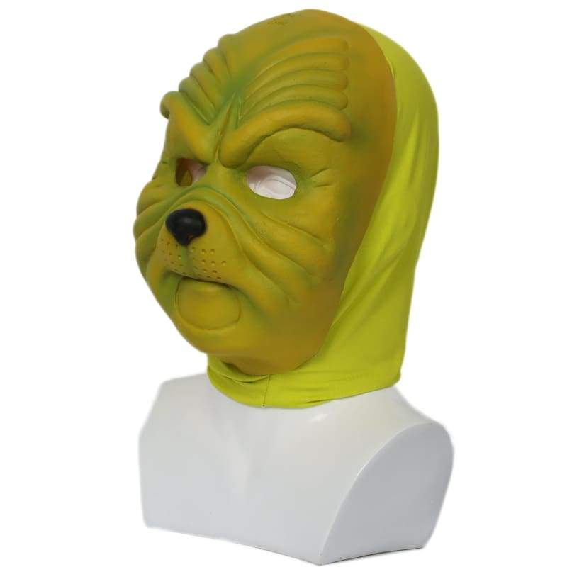 xcoser-de,Xcoser Grinch Mask Deluxe Green Latex Mask How the Grinch Stole Christmas Cosplay Props,Mask