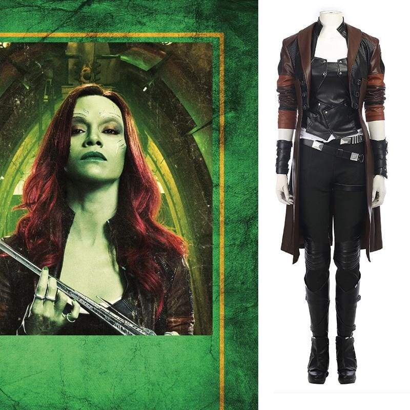 Xcoser Guardians of the Galaxy Vol. 2 Gamora Cosplay Costume