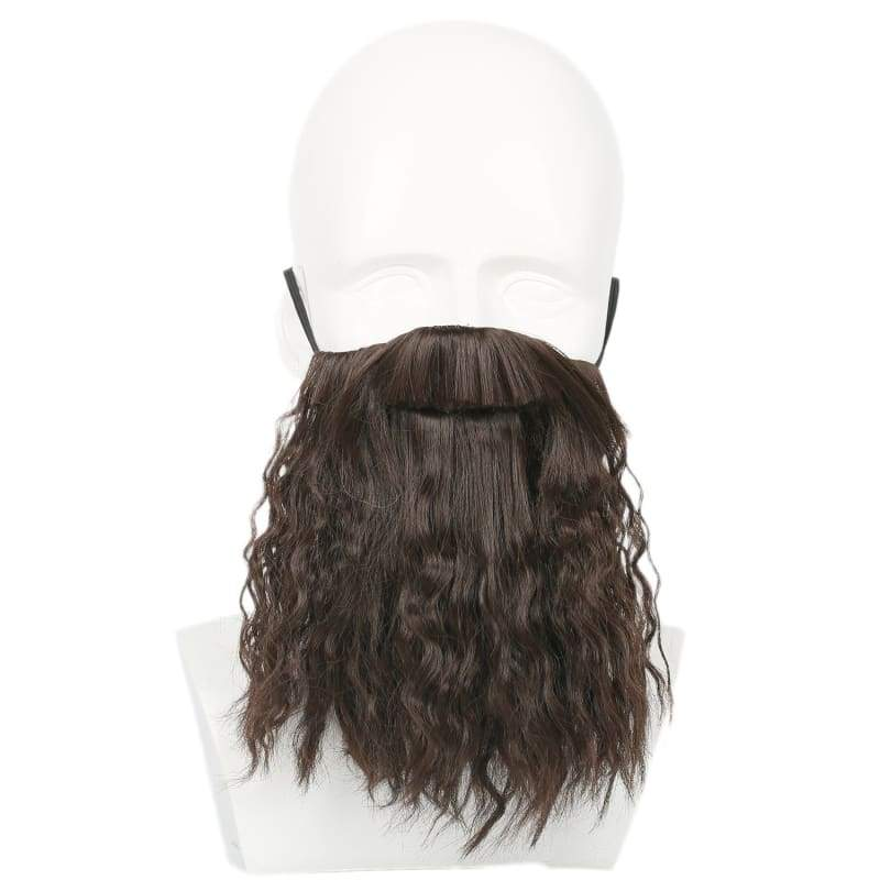 xcoser-de,Xcoser Harry Potter Hagrid  Brown Long Curly Wavy Wig Cosplay  Accessories,Wigs