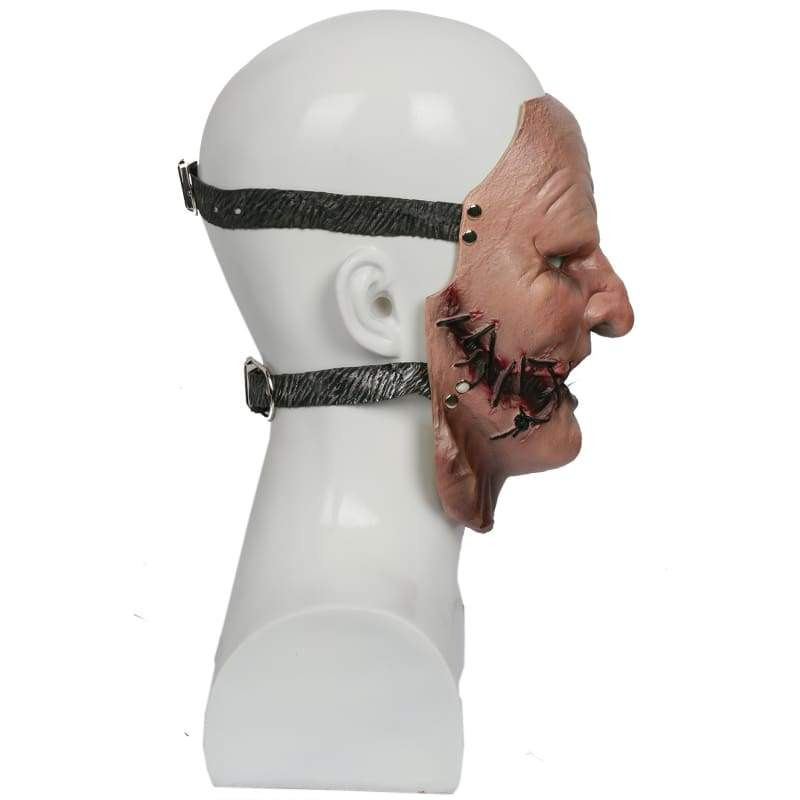 xcoser-de,XCOSER Heavy Rock Rol Metal Band Slipknot Cosplay Corey Taylor Resin & Latex Mask Halloween Mask,Mask