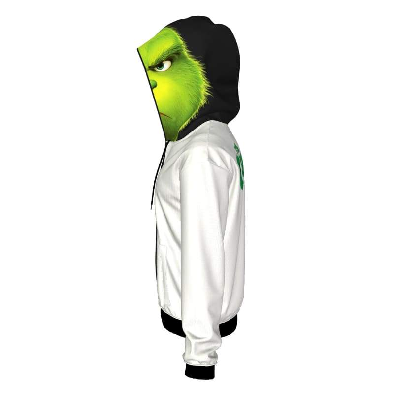 xcoser-de,XCOSER How the Grinch Stole Christmas Grinch Creative Hoodie,Hoodies