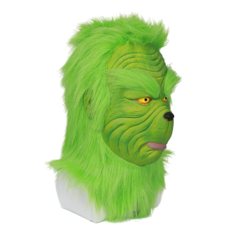 xcoser-de,Xcoser How the Grinch Stole Christmas Movie Cosplay Grinch Full Set of Costume,Costumes