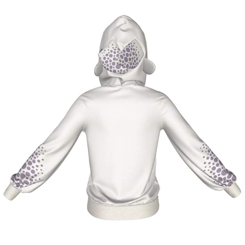 xcoser-de,XCOSER How to Train Your Dragon 3 Light Fury Creative Hoodie White Polyester,Hoodies