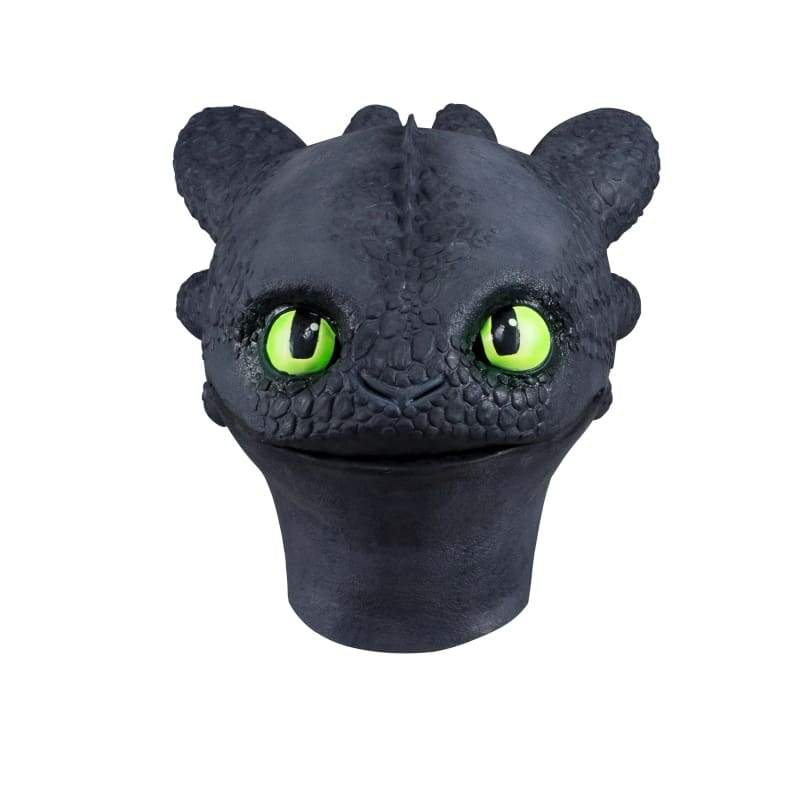 xcoser-de,XCOSER How to Train Your Dragon 3 Toothless &Light Fury Helmet Cosplay Mask,Mask