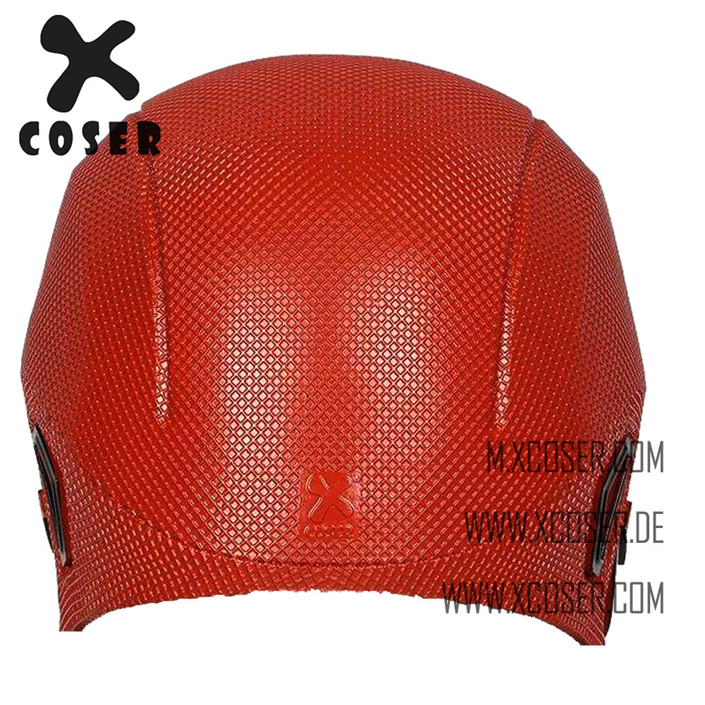 Xcoser Cosplay  Injustice 2 Red Hood Red Resin Helmet Game Cosplay Mask