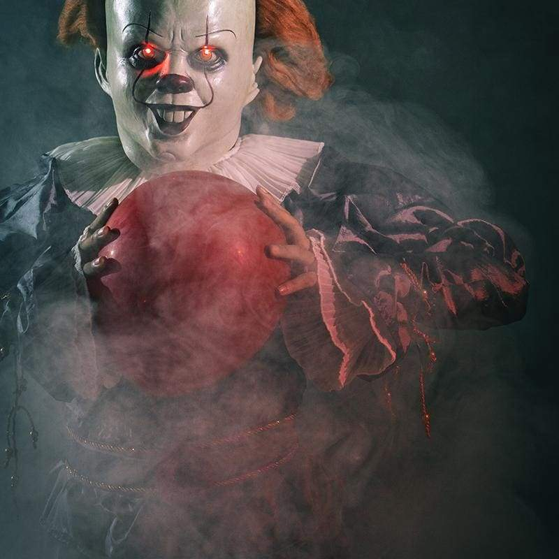 XCOSER It Chapter Two 2019 Pennywise Clown Stephen King's Fancy Halloween Costume