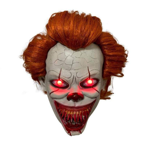 xcoser-de - Es 2: Pennywise ist zurück The Dancing Clown Cosplay Maske mit LED - Maske