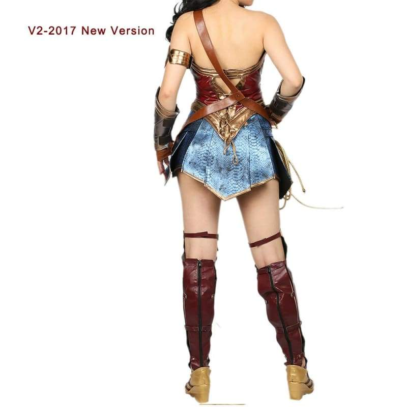 xcoser-de,Xcoser Justice League Wonder Woman Cosplay Costume,Costumes