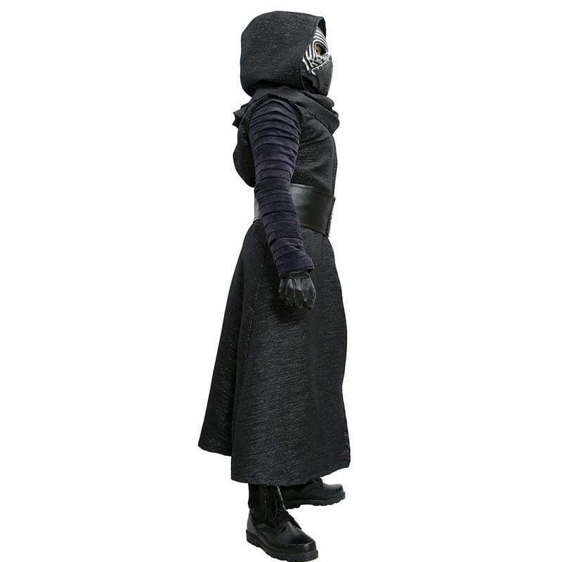xcoser-de,Xcoser Kylo Ren Costume Star Wars VII The Force Awakens Cosplay Villain Deluxe Adult Halloween Costume,Costumes