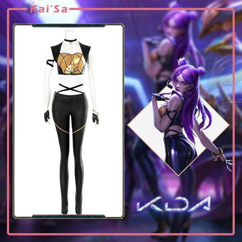Xcoser League of Legends Daughter of the Void KDA Kaisa Cosplay Costume