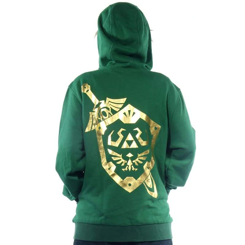 xcoser-de,Xcoser Link Hoodie The Legend of Zelda Zip Hoodies for Men,Hoodies