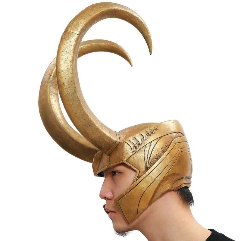 xcoser-de,Xcoser Loki Helmet Marvel Movie Thor Cosplay Mask,Helmet