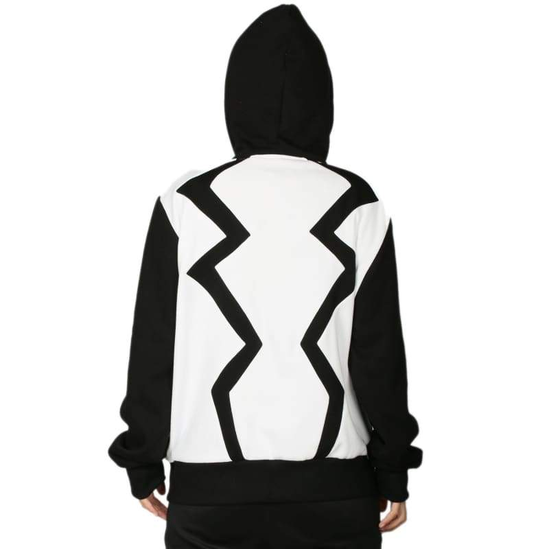 xcoser-de,Xcoser Marvel Comics Fantomex Hoodie Costume Zipper Hooded Sweatshirt for Adults,Hoodies