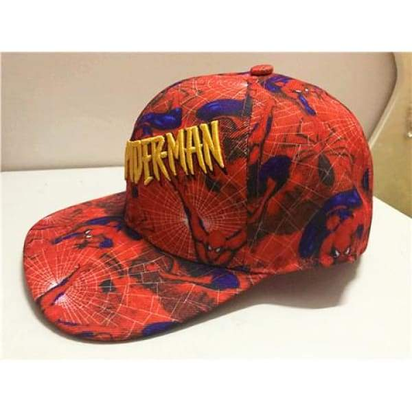 xcoser-de,XCOSER Marvel Derivative Spider-Man Related Embroidered Hat,Hats