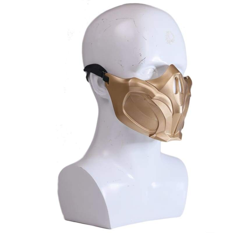 xcoser-de,XCOSER Mortal Kombat 11 Scorpion Mask Cosplay Accessory,Mask