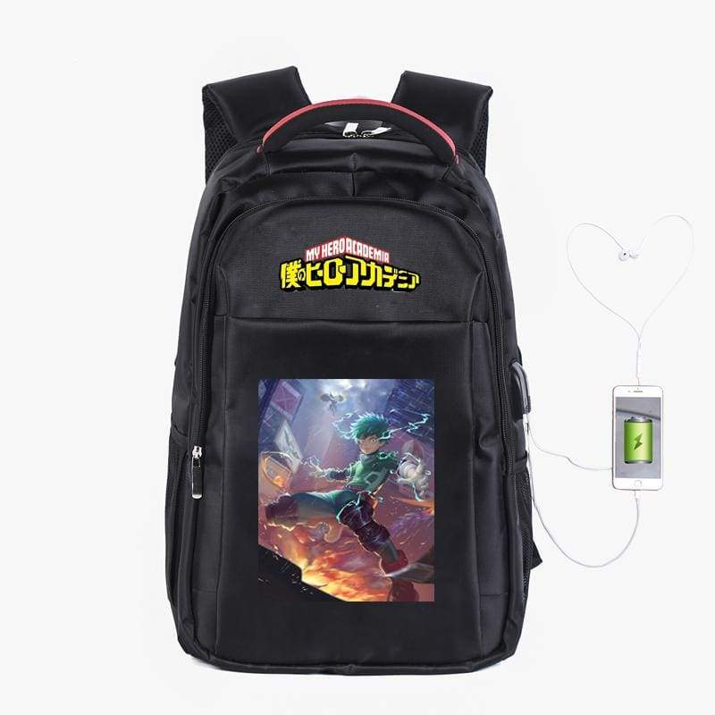 xcoser-de,XCOSER My Hero Academia Izuku Midoriya Backpack,Others