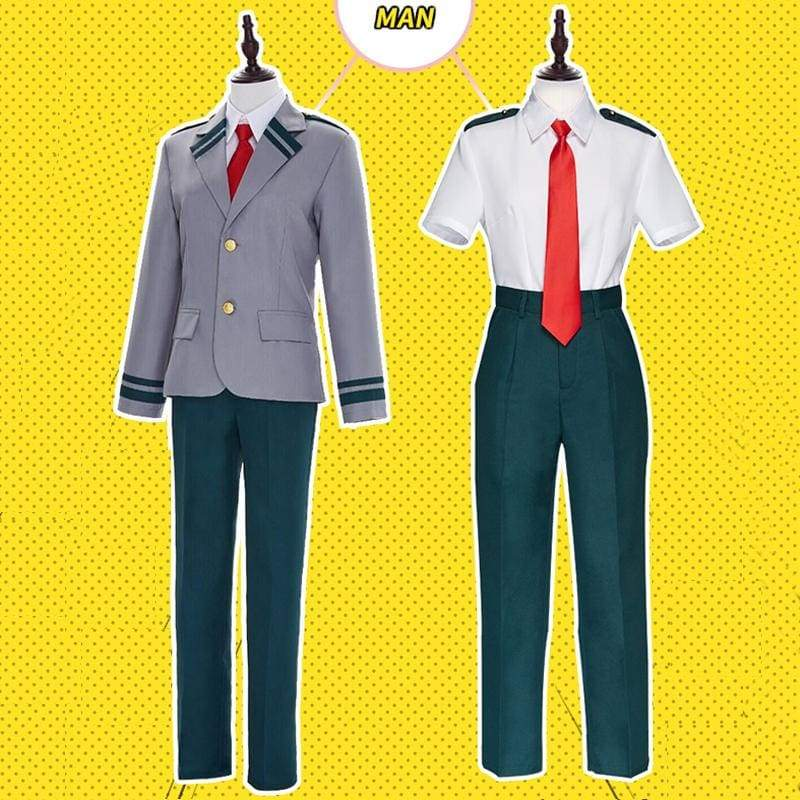 Xcoser My Hero Academia Midoriya Izuku Cosplay School Uniform