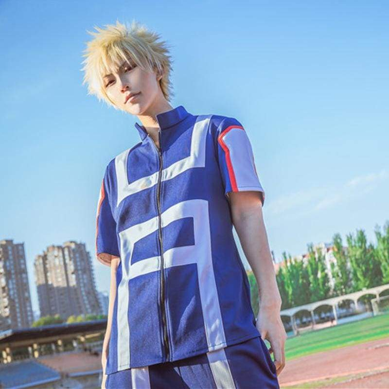 Xcoser My Hero Academia Midoriya Izuku Cosplay School Uniform Male Sportswear