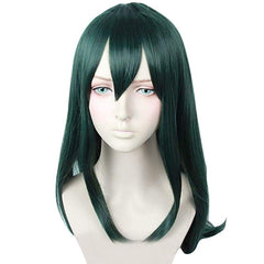 xcoser-de - Xcoser My Hero Academia Tsuyu Asui Cosplay Green Long Straight Wig - Wigs - Xcoser Shop