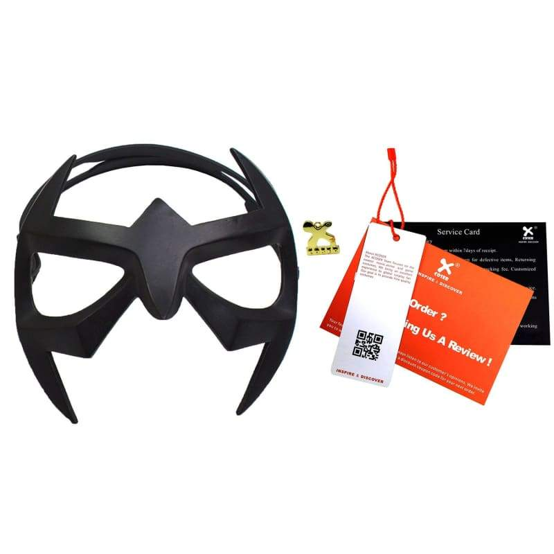 xcoser-de,Xcoser Nightwing Black Resin Eye Mask Dick Grayson Cosplay Mask,Mask