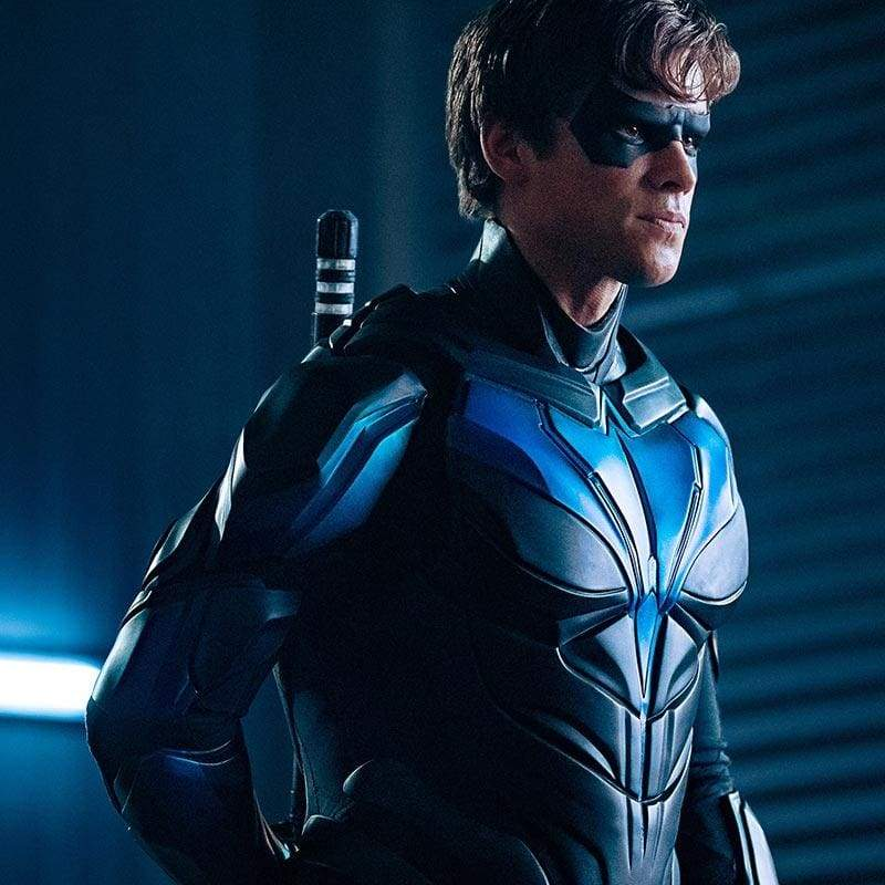 Xcoser Nightwing Cosplay Costumes Titans Season 2 Blue Suit Presale