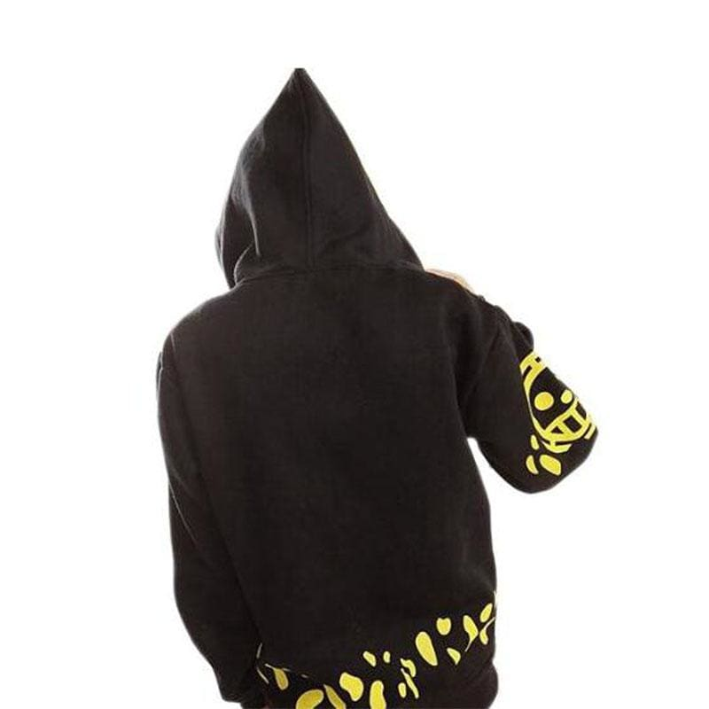 Xcoser One piece Trafalgar Law Style Zipped Hoodie