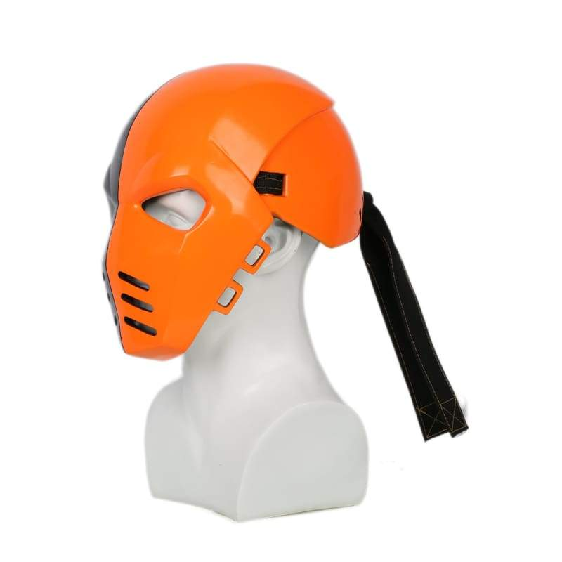 xcoser-de,Xcoser Original Cosplay Mask Deathstroke Helmet Resin Full Head Mask Arrow Season 5 Cosplay Masks,Mask