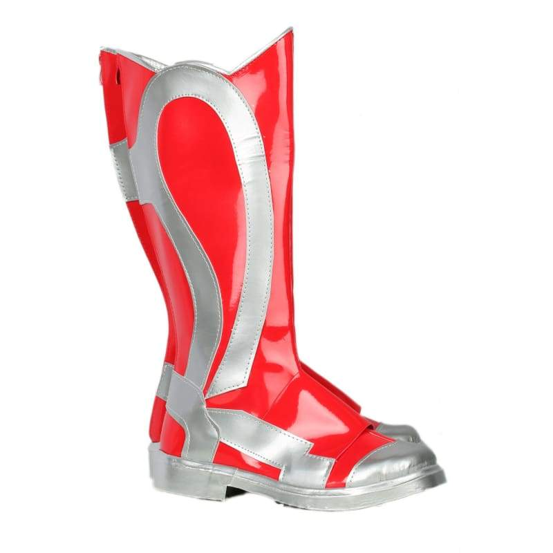 xcoser-de,Xcoser Original Design Power Rangers Boots Deluxe Leather Boots for Red Rangers Cosplay Sale,Boots