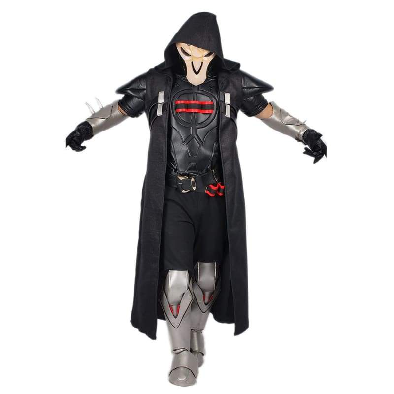 xcoser-de,Xcoser Overwatch Reaper Outfits Halloween and Cosplay Costume,Costumes