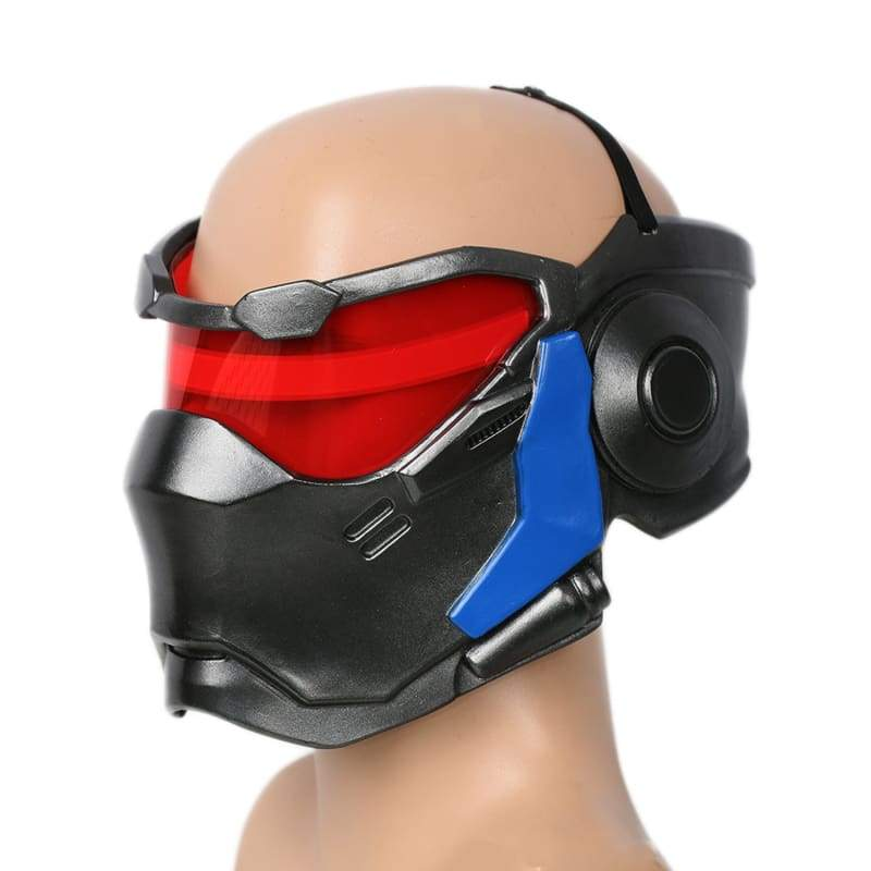 xcoser-de - Xcoser Overwatch Soldier 76 Mask Cosplay Props with LED Light - Mask - Xcoser Shop