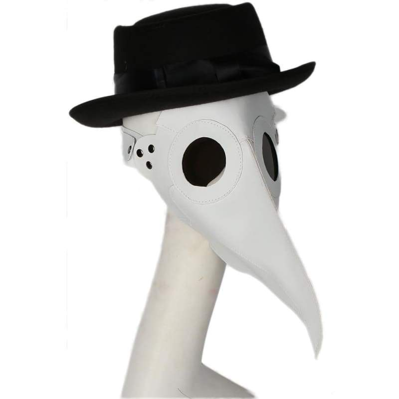 xcoser-de,Xcoser Plague Doctor Cosplay Mask Long Beak PU Mask,Mask