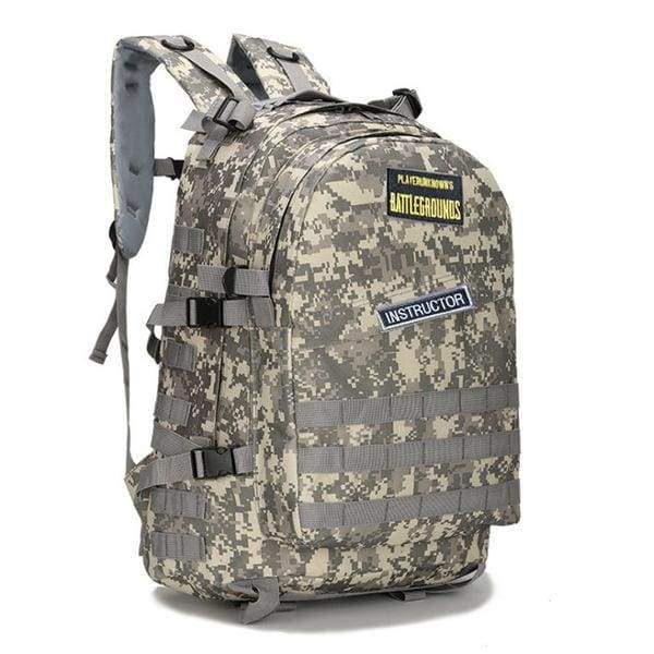 xcoser-de,Xcoser PlayerUnknown's Battlegrounds Camouflage High-capacity backpack Cosplay Bag,Others
