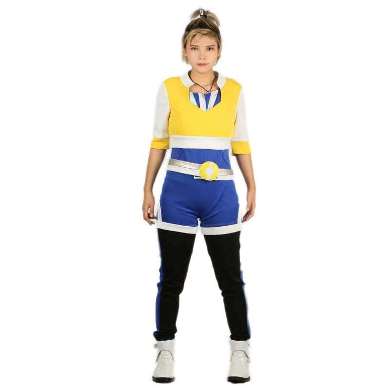 xcoser-de,Xcoser Pokemon GO Cosplay Costume Full Set of Outfits for Woman,Costumes