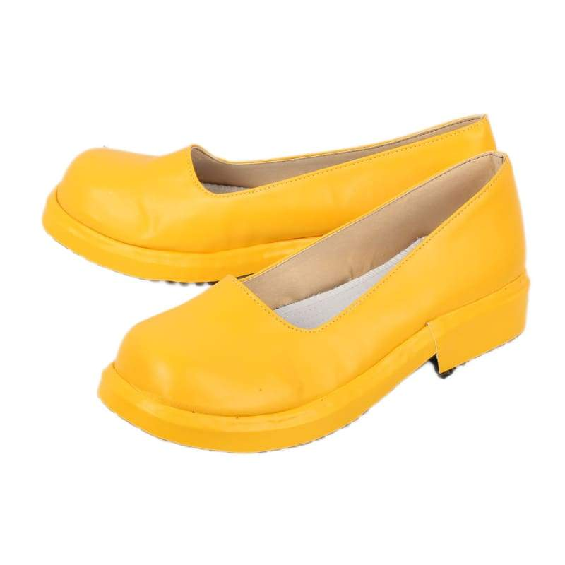 xcoser-de,Xcoser PU Shoes Iron First Yellow Shoes Iron First Cosplay Shoes Sale,Boots
