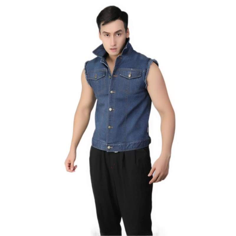 xcoser-de,Xcoser Ready Player One Parzival Denim Cosplay Jacket,Jackets