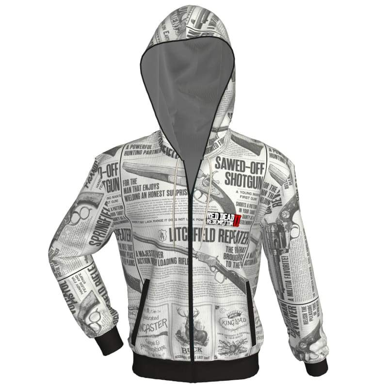 xcoser-de,XCOSER Red Dead: RedemptionⅡ Hoodie/Shirt LOGO Printing Polyester+Cotton for Adult,Hoodies