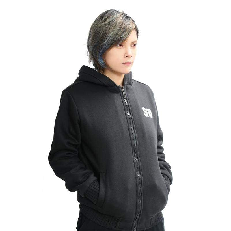 xcoser-de,Xcoser SAO Kirito Zip-Up Jacket Hoodie,Hoodies