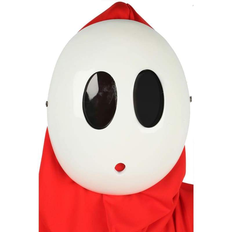 xcoser-de,XCOSER SHY Guy Mask Costume Props For Halloween,Mask