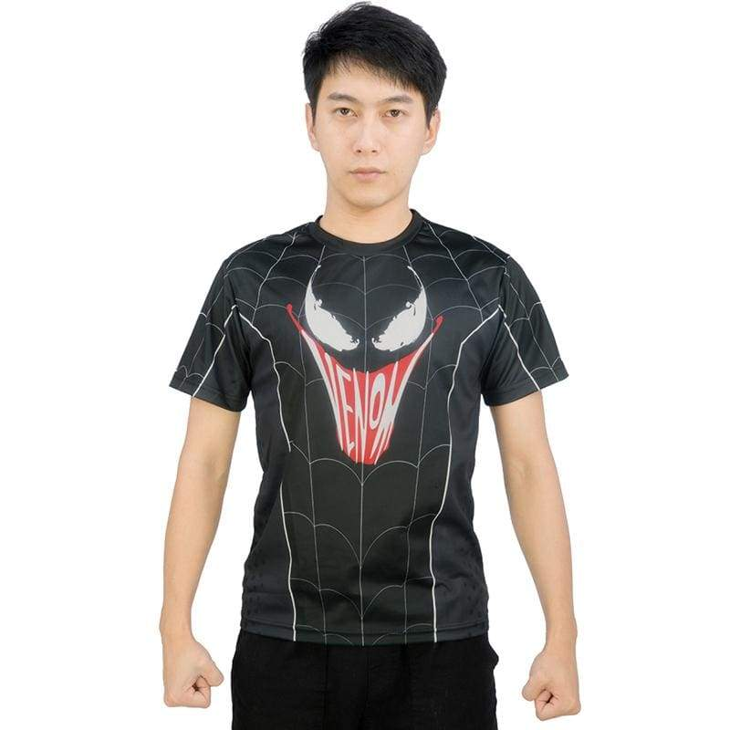 xcoser-de,XCOSER Spider-Man: Far From Home Spider Man&Venom T-shirt Parent Child Clothing/Outfit,T-shirts