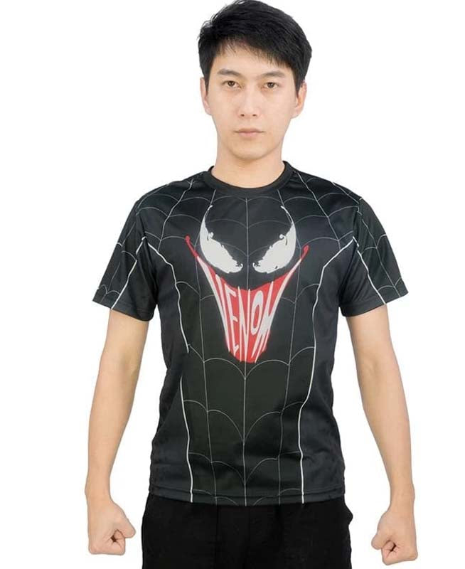 xcoser-de,XCOSER Spider-Man: Far From Home Spider Man&Venom T-shirt Parent Child Clothing/Outfit,Spider-Man