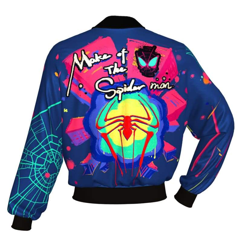 xcoser-de,XCOSER Spider-Man: Into the Spider-Verse Cosplay Spider-Man Jacket,Jackets
