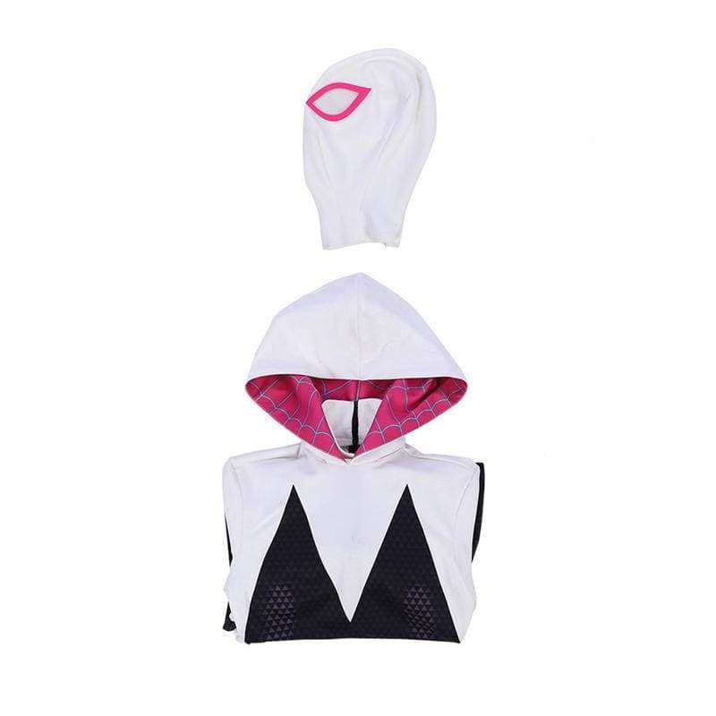 xcoser-de,Xcoser Spider-Man: Into the Spider-Verse Spider-Gwen Cosplay Jumpsuit,Costumes