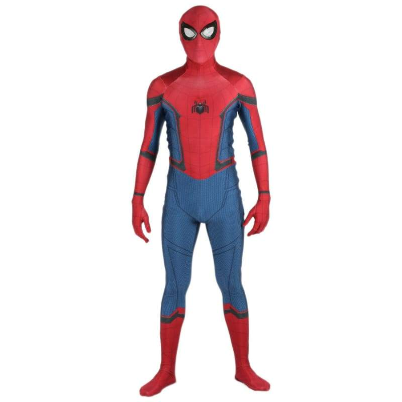 xcoser-de,Xcoser Spiderman Homecoming Zentai Costume for Cosplay With Web Wings,Costumes