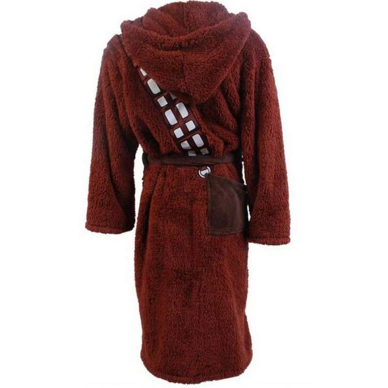 xcoser-de,XCOSER Star Wars Cosplay Star Wars Chewbacca Kostüm Bademantel,Kostüm