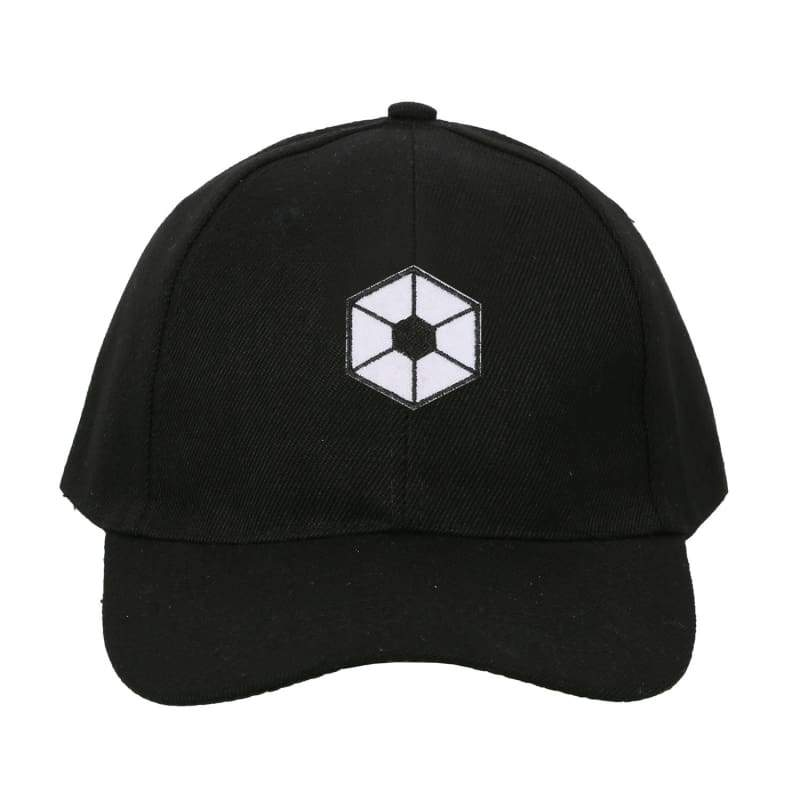 xcoser-de,Xcoser Star Wars Cosplay Requisiten schwarz Baseball Cap Hut mit bestickten Patch,Hut