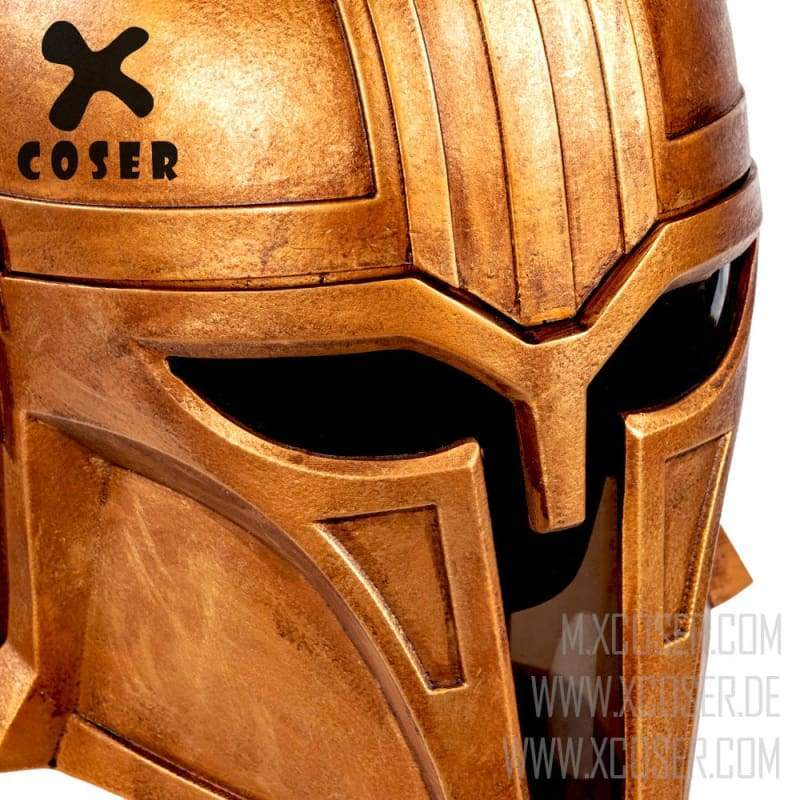 Star Wars Gaiden _ TV series Mandalorian Steel Craftsman Helmet _ resin version _ right detail
