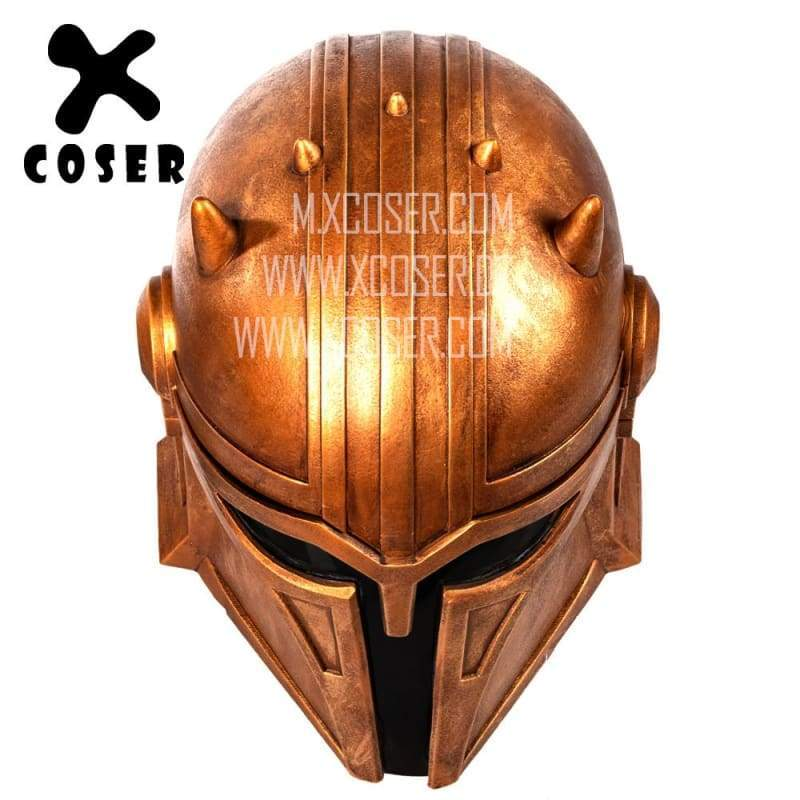 Xcoser Star Wars Mandalorian Blacksmith the Armorer Cosplay Helmet 1:1 Replica Resin/latex Presale - 7
