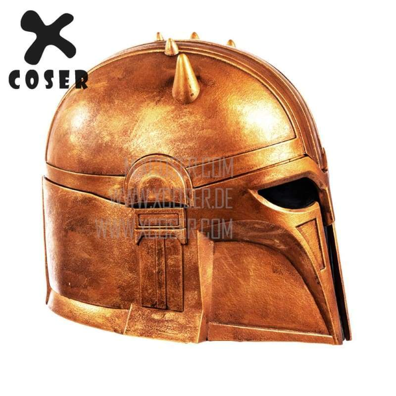 Xcoser Star Wars Mandalorian Blacksmith the Armorer Cosplay Helmet 1:1 Replica Resin/latex Presale - 5
